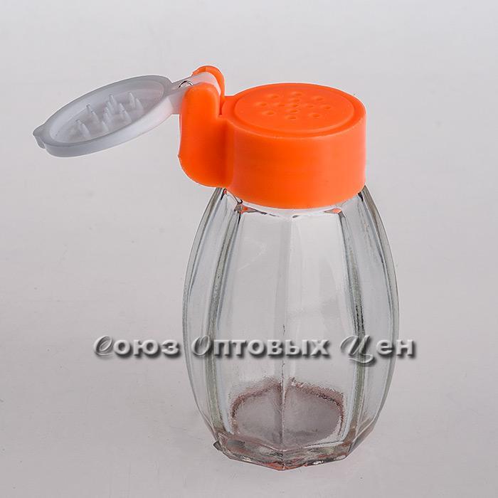 солонка стекло пласт крышка 10136-2 уп/24 Н10