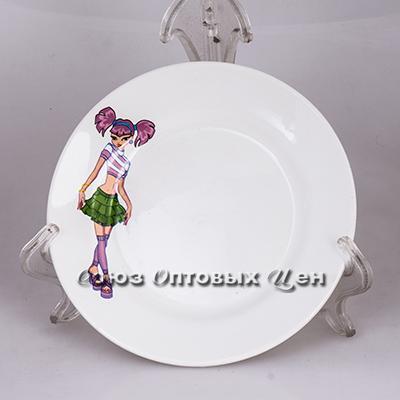 тарелка 175 мел гр8 Девочки СК057 (уп20)