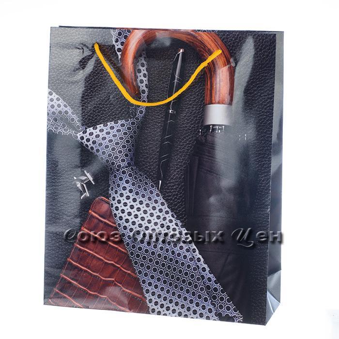 Пакет подарочный бумага  28*34  54*