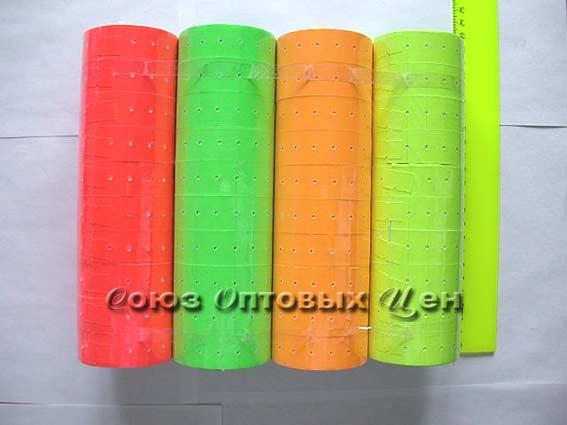 этикет-лента цветн. 900 (уп/10/100/1000шт)