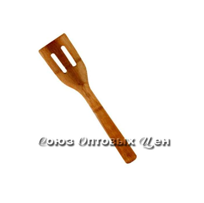 лопатка для приготовления пищи бамбук30см Н-21 DOMINA