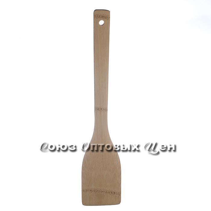 лопатка для приготовления пищи бамбук 30см КН-8 DOMINA