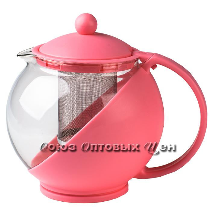 чайник заварочник стекл пласт 1250 мл 26-S В3