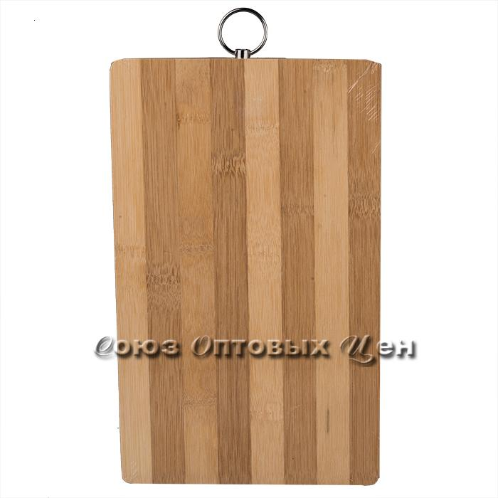 доска разделочная бамбук 18*28*1,8см полоска