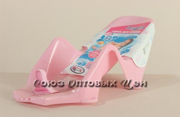 горка д/купания Дельфин розовая LA2902RS