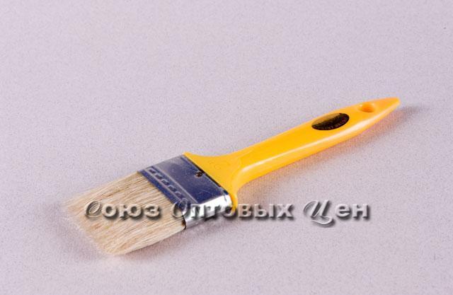 "кисть пласт ручка 2,5"" КФ-63мм уп/12"