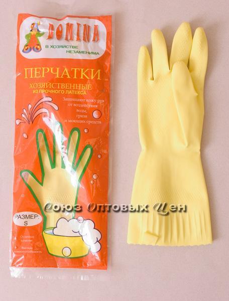 перчатки латекс L  DOMINA 80гр.12/240