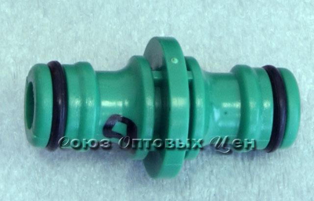 переходник пластм для шлангов штуцетП-П (FL020 /3015) -Е