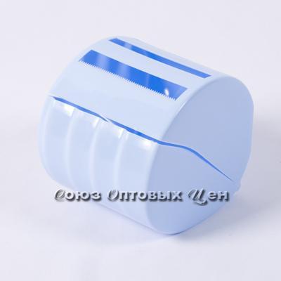 держатель пласт для туалетной бумаги голуб 1512