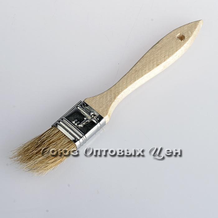 """кисть дер.ручка 1"""" КФ-25мм уп/12 №6"""