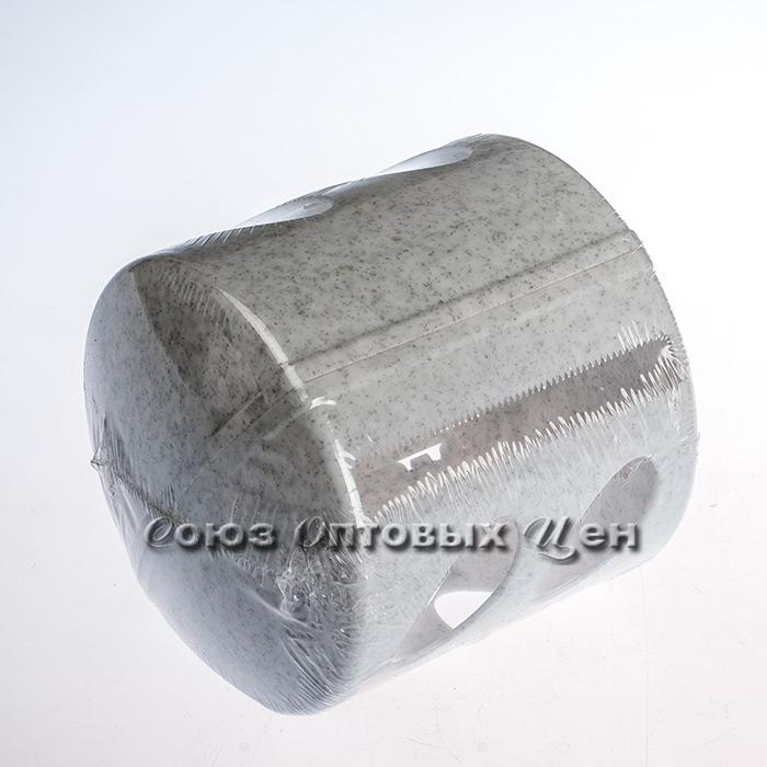 Держатель д/т. бумаги Aqua мрамор BQ1512МР (кор 30 шт)
