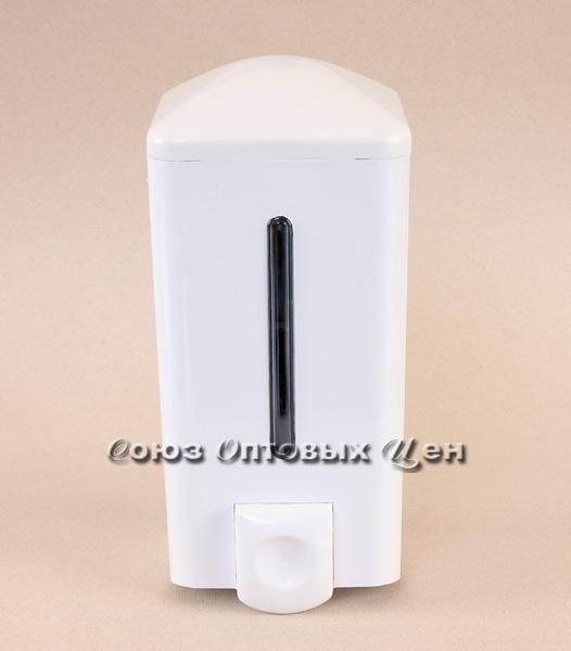 дозатор для жидкого мыла 0,5л белый