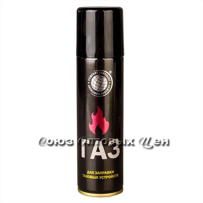 Газ для заправки зажигалок 210 см3 Сибиар (кор 24)
