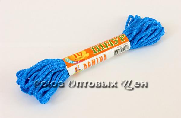шнур бельевой 3мм/10м цветной DOMINA уп 100