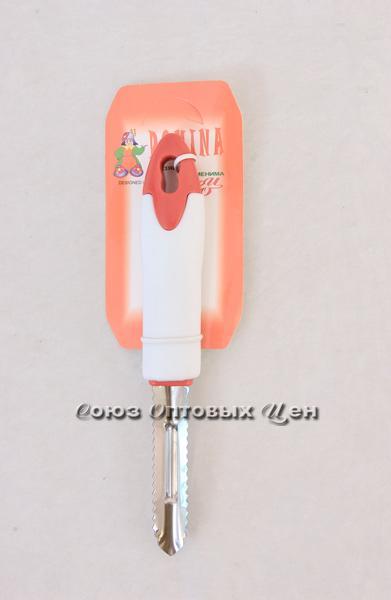 овощечист-рыбочист бел-крас PF-002-12R уп/40 DOMINA