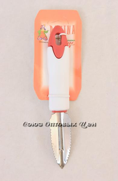 овощечист-рыбочист бел-крас PF-002-7R уп/40 DOMINA