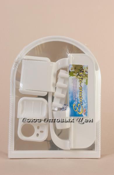 Зеркальный набор для ванной ЕЛЕНА МХ бел. 101-106-07-01