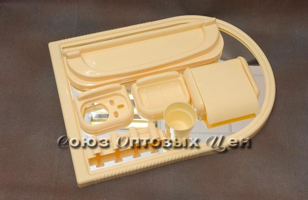 Зеркальный набор для ванной ЕЛЕНА МХ крем. 101-106-07-04