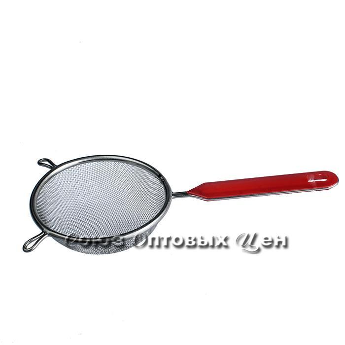 сито метал с ручкой пластик d18см 2204-B