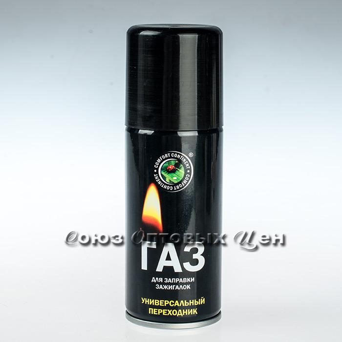 Газ для заправки зажигалок 140 см3 Сибиар (кор 15)