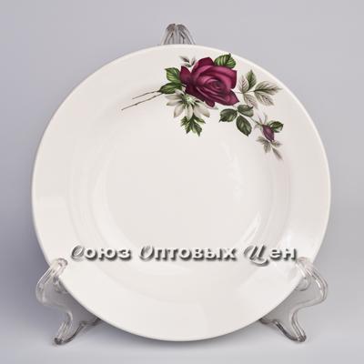 тарелка 200 гл гр8 Черная роза СК055 уп20шт