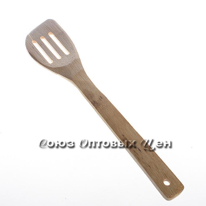 лопатка для приготовления пищи бамбук 30см КН-1 DOMINA