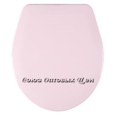 крышка для унитаза универ. Орио К-03 розовая