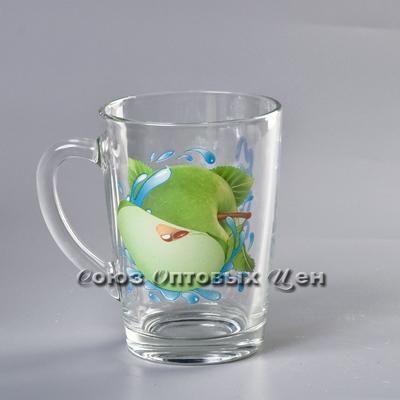 кружка Капучино 07с1334 Яблоко зелёное 300мл уп/20шт