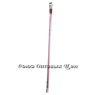 гардина в ванну 140-260 см DOMINA розовая