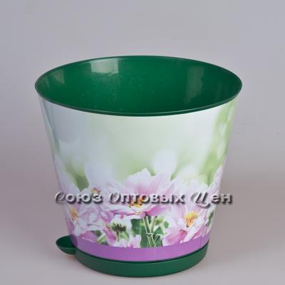 горшок д/цветов 120 Крит корнев.полив хризантемы ING46012