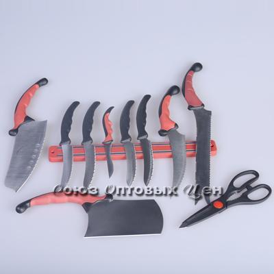 набор ножей метал на магните уп 10шт
