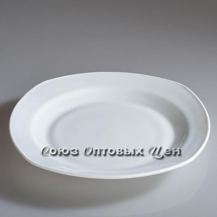"""тарелка стеклокер белая квадр 8.5""""(20см) FP85 SH-18 уп 6!!!(ВВ1-3)"""