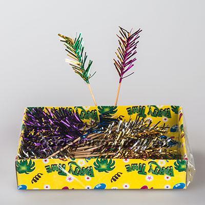 канапе пальмы 15см украшение д/бара 15 см GL104 1/100шт