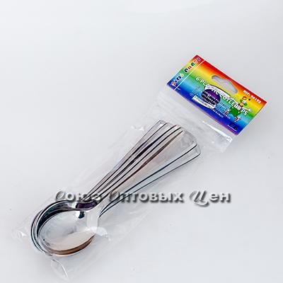 ложка одноразовая пласт под сталь уп/6шт