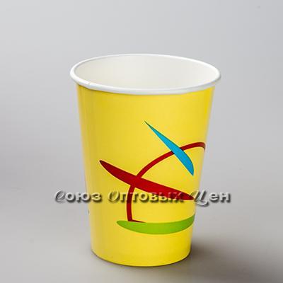 стакан 300мл RРЕ300 бумажные д/холод напитков 50/1000