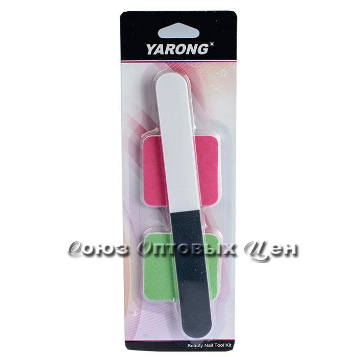 пилка для ногтей н-р 3предм на листе  S171 уп 24