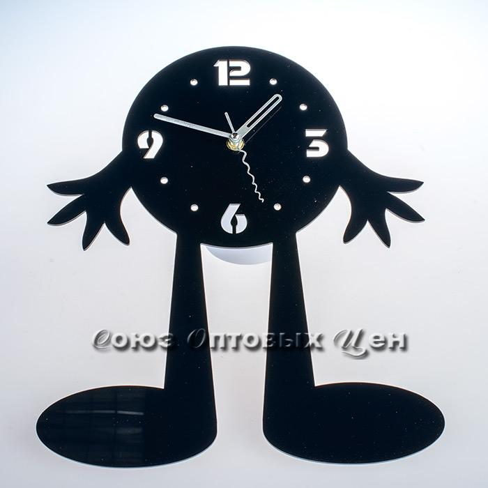 часы пластм настенные 30*35см А100