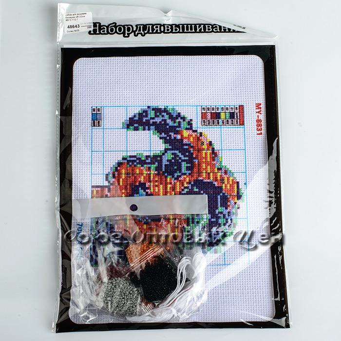 набор для вышивки бисером 28*22см  8813 110-1