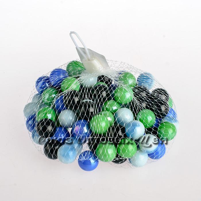 камни декор цветные стекло С-157 уп500гр