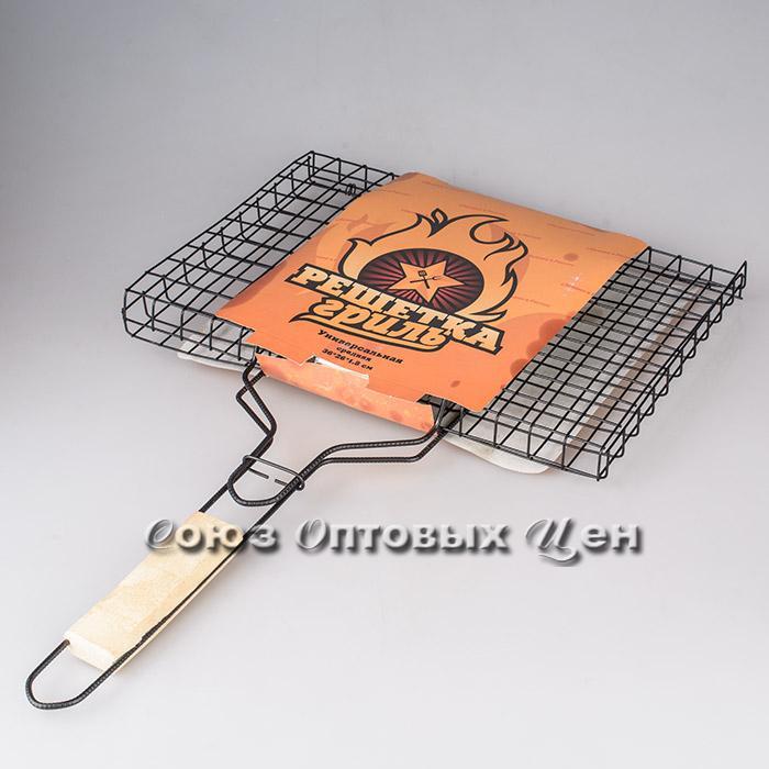 Решетка для барбекю  универсальная большая 435*285*18мм