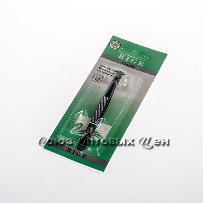 пинцет металл для бровей на листе S-177