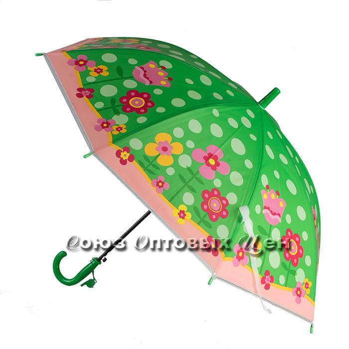 зонтик детский трость полуавтомат S-10