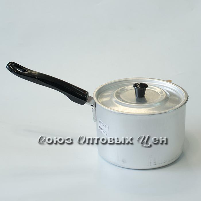 Кастрюля алюм 1,5л с мет/кр с пл.руч (12) МТ-074 уп12 У-39