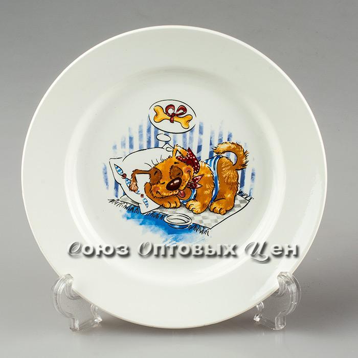 тарелка 200 мел гр8 Дружок 056 уп/26 шт.