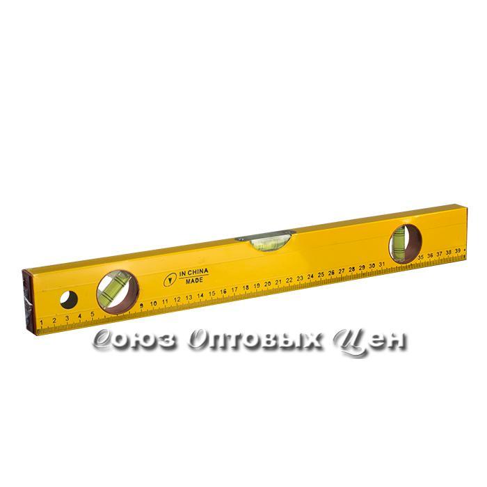 уровень алюминиевый желтый  50см.