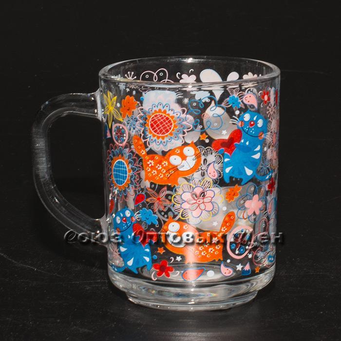 Кружка для чая 200мл арт.335-Д Котики