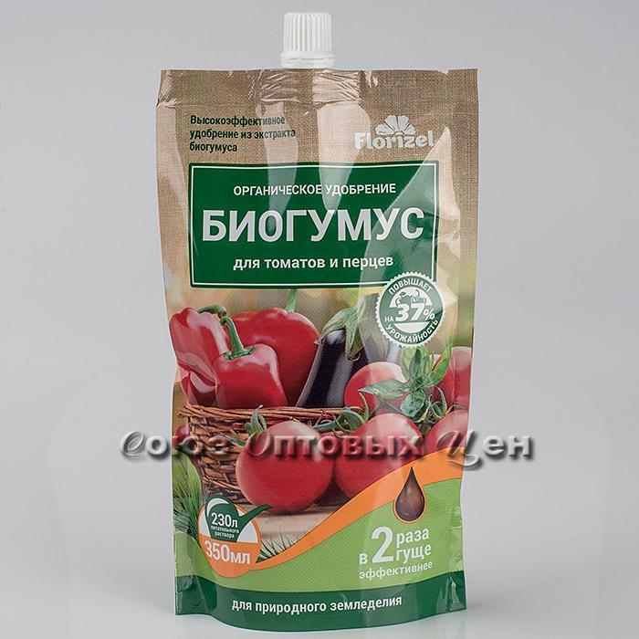 Фото биогумус для помидорного растения