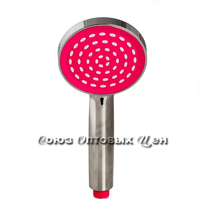 лейка для душа 40011-1 хром-розовый ( 100/200 шт)