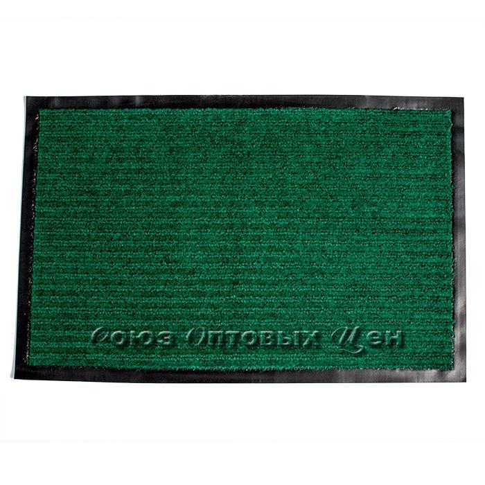 коврик придверный влаговпитывающий 48*78 зеленый