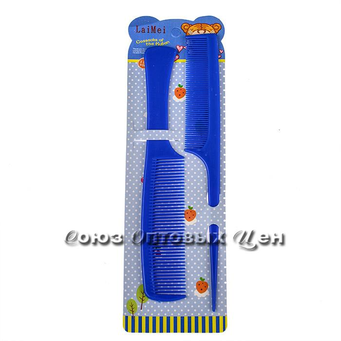 набор детских расчесок пластм R9216 уп 2шт